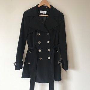 Calvin Klein- Black Trench coat